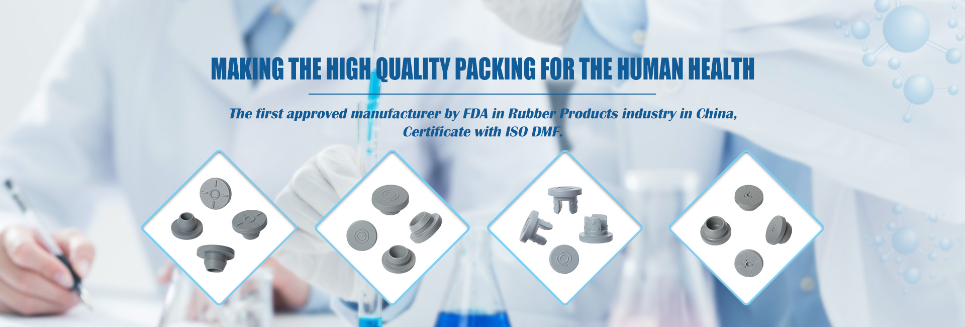 Making the high quality packing for the human health