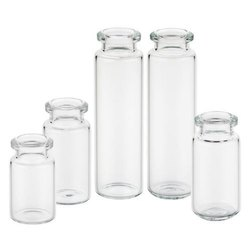 Tubular vials for injection